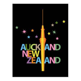 Cidade Nova Zelândia de Auckland Cartão Postal