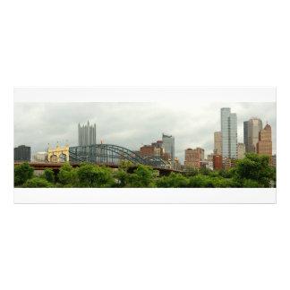 Cidade - PA de Pittsburg - a cidade grande de Panfleto