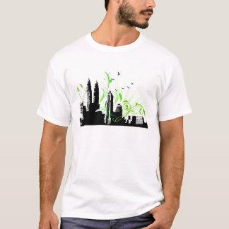 Cidade Scape Camiseta