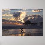 """Cidade surf do surfista do """" posters"""