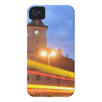 Cidade velha de Brasov na Transilvânia, Romania Capas Para iPhone 4 Case-Mate