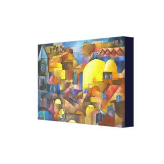 Cidade velha de Jerusalem Impressão Em Tela