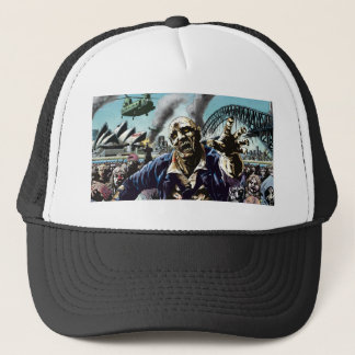 Cidades do zombi: Boné do camionista dos zombis de