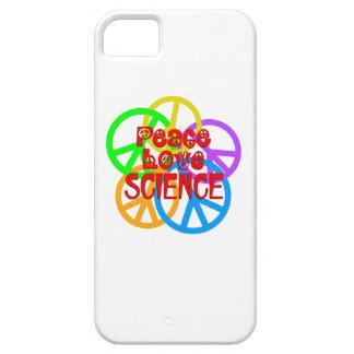 Ciência do amor da paz capa barely there para iPhone 5