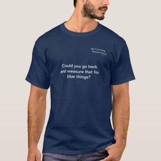 Ciência dos dados camiseta