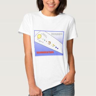 Ciência, física, unidades astronômicas tshirts
