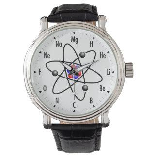 Ciência/química atômicas relogios de pulso