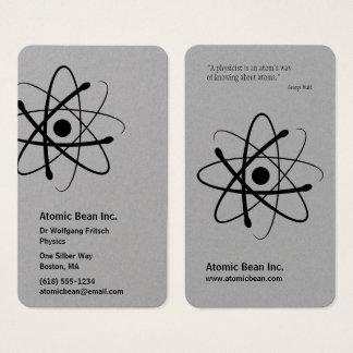 Cientista atômico do feijão | cartão de visitas