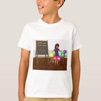 Cientista do miúdo camiseta