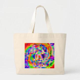 Cifra recreada bolsa para compras