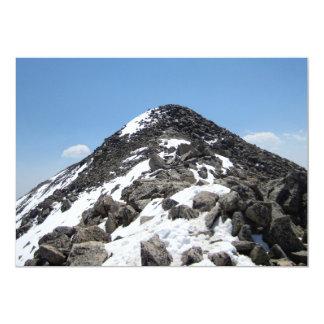Cimeira da montagem Yale, Colorado Convite 12.7 X 17.78cm