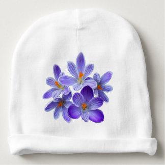 Cinco açafrões violetas 05,0, cumprimentos do gorro para bebê