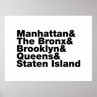 Cinco cidades poster