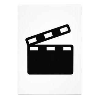 Cinema da válvula do filme convites