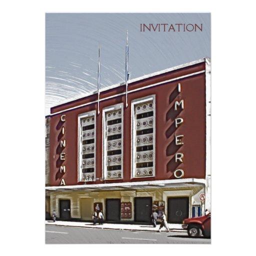 Cinema Impero, Asmara Convite