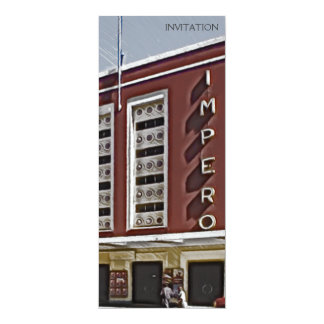 Cinema Impero, Asmara Convite 10.16 X 23.49cm