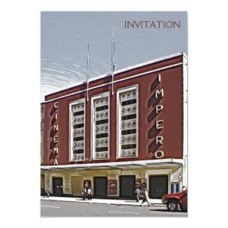 Cinema Impero, Asmara Convite 12.7 X 17.78cm