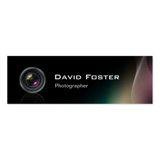 Cinematógrafo Freelance tevê do fotógrafo do filme Modelo Cartoes De Visitas