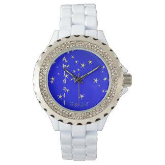 Cintilação pouca estrela pelos Feliz Juul Empresa Relógio De Pulso