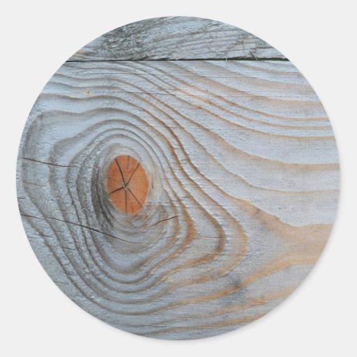 Cinza azul da textura de madeira adesivo