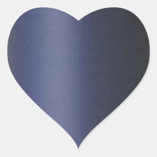 CINZA AZUL liso DarkGray Adesivo Coração