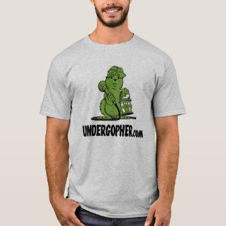 Cinza de Undergopher Camiseta