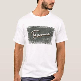 Cinza do raio do Trance Camiseta