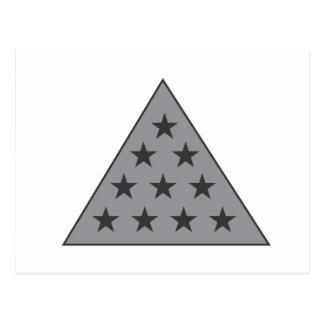 Cinzas da pirâmide do Pi do Sigma Cartão Postal