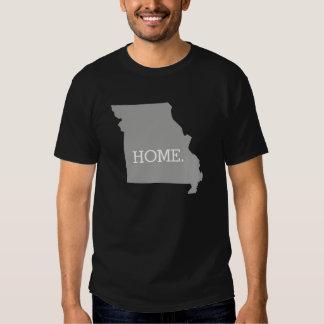 Cinzas do estado de origem de Missouri T-shirt