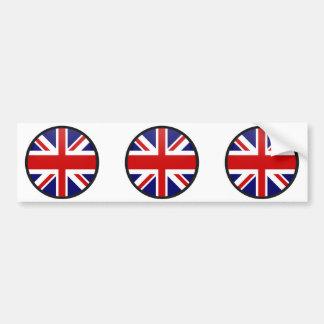 Círculo da bandeira da qualidade de Reino Unido Adesivos