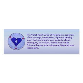 Círculo da cura - o cartão de visita do cuidador