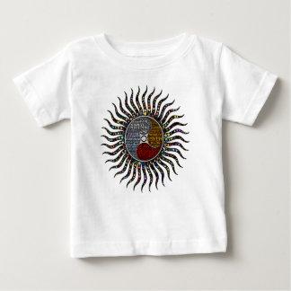 Círculo da vida camiseta para bebê