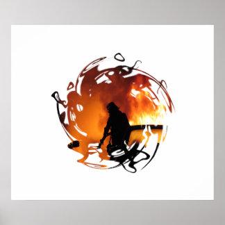 Círculo das chamas pôster