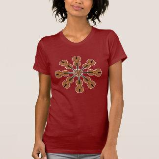 Círculo dos violinos camiseta