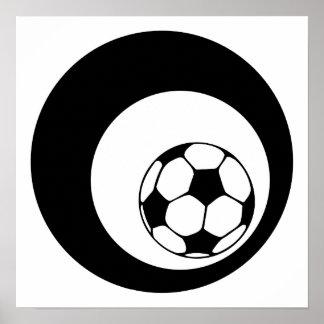 círculos do futebol pôster