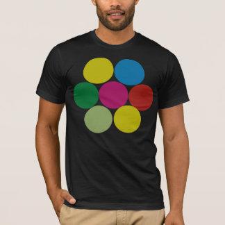 Círculos Funky Camiseta