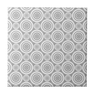 Círculos geométricos à moda modernos cinzentos e
