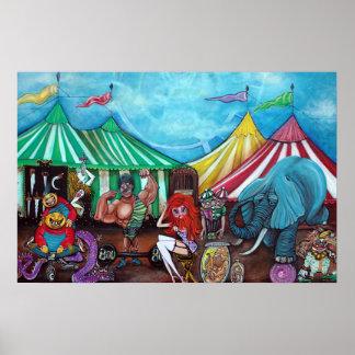 Cirque De Anormal Poster