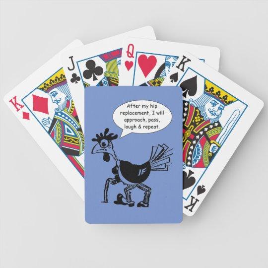 Cirurgia anca da substituição - citações do baralhos de pôquer