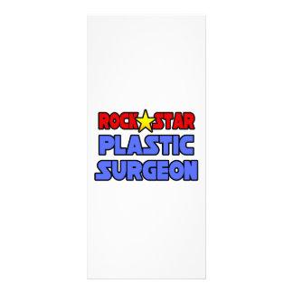 Cirurgião plástico da estrela do rock panfletos informativos personalizados