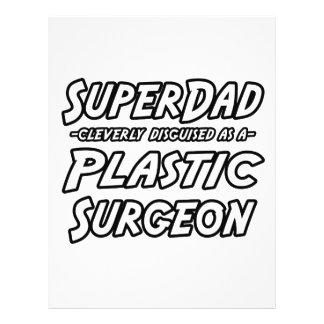 Cirurgião plástico de SuperDad… Panfleto Coloridos