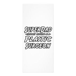 Cirurgião plástico de SuperDad… Planfetos Informativos Coloridos