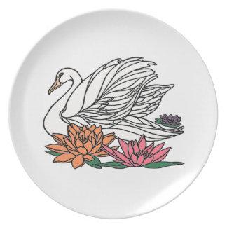 Cisne 2 louça de jantar