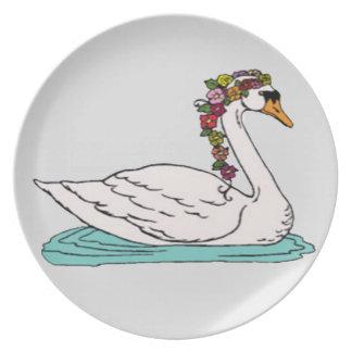 Cisne 5 louça de jantar