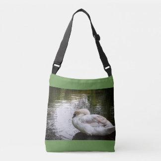 Cisne branca bolsa ajustável