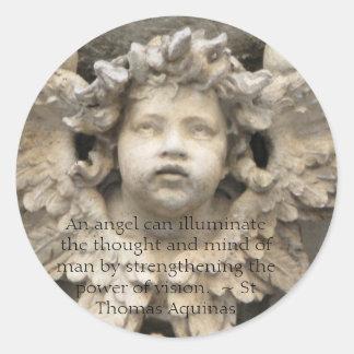 Citações angélicos do anjo - cotação do anjo adesivo