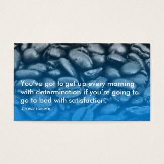 citações da determinação de Lorimer Cartão De Visitas