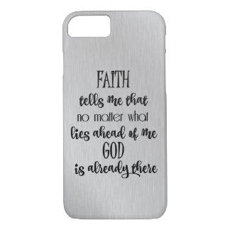 Citações da fé capa iPhone 7