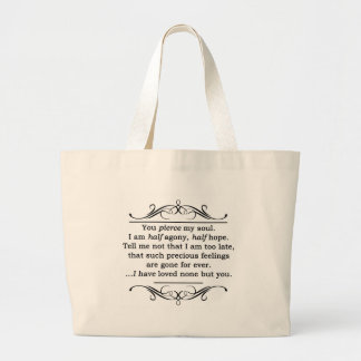 Citações da persuasão de Jane Austen Bolsas Para Compras