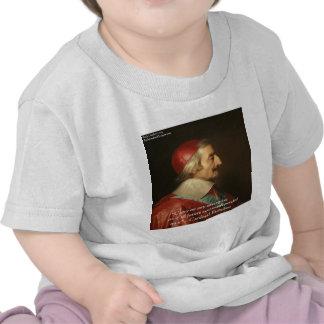 Citações da sabedoria do sucesso de Cardeal Richel Camisetas